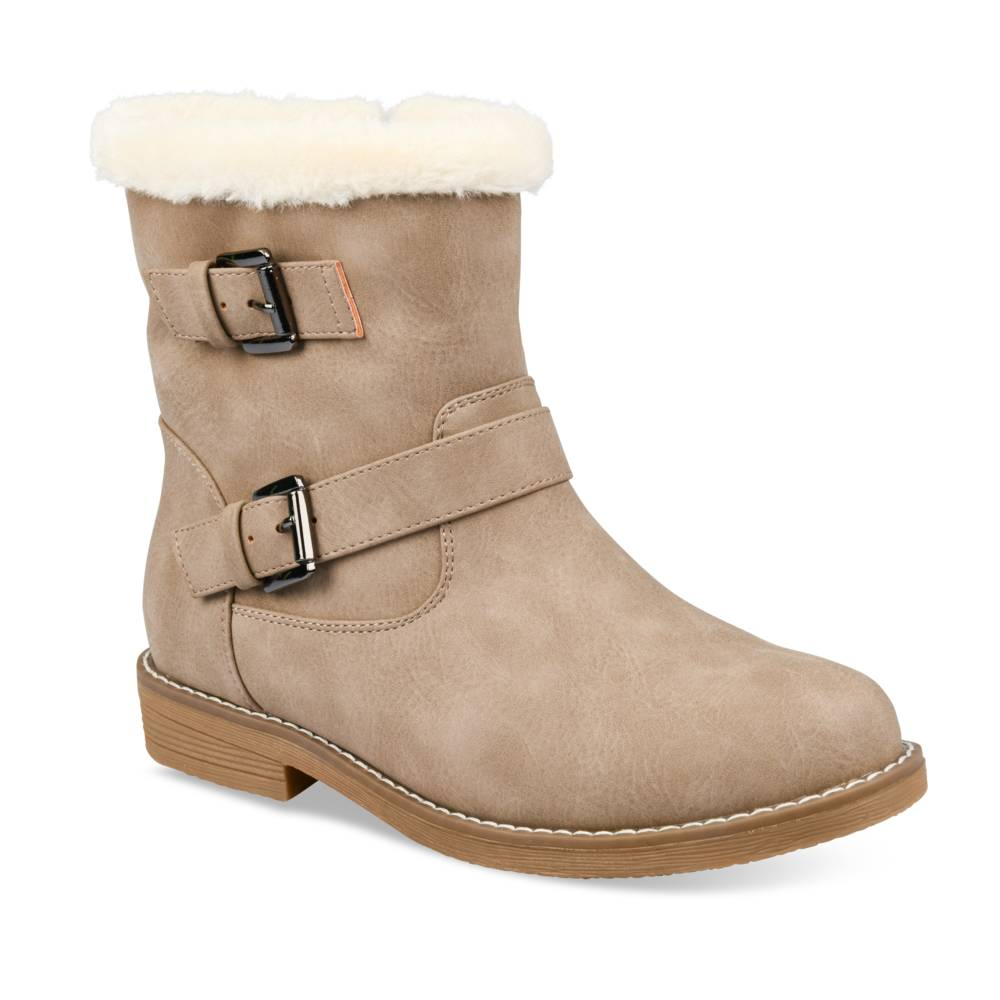 Bottines plates TAUPE MERRY SCOTT