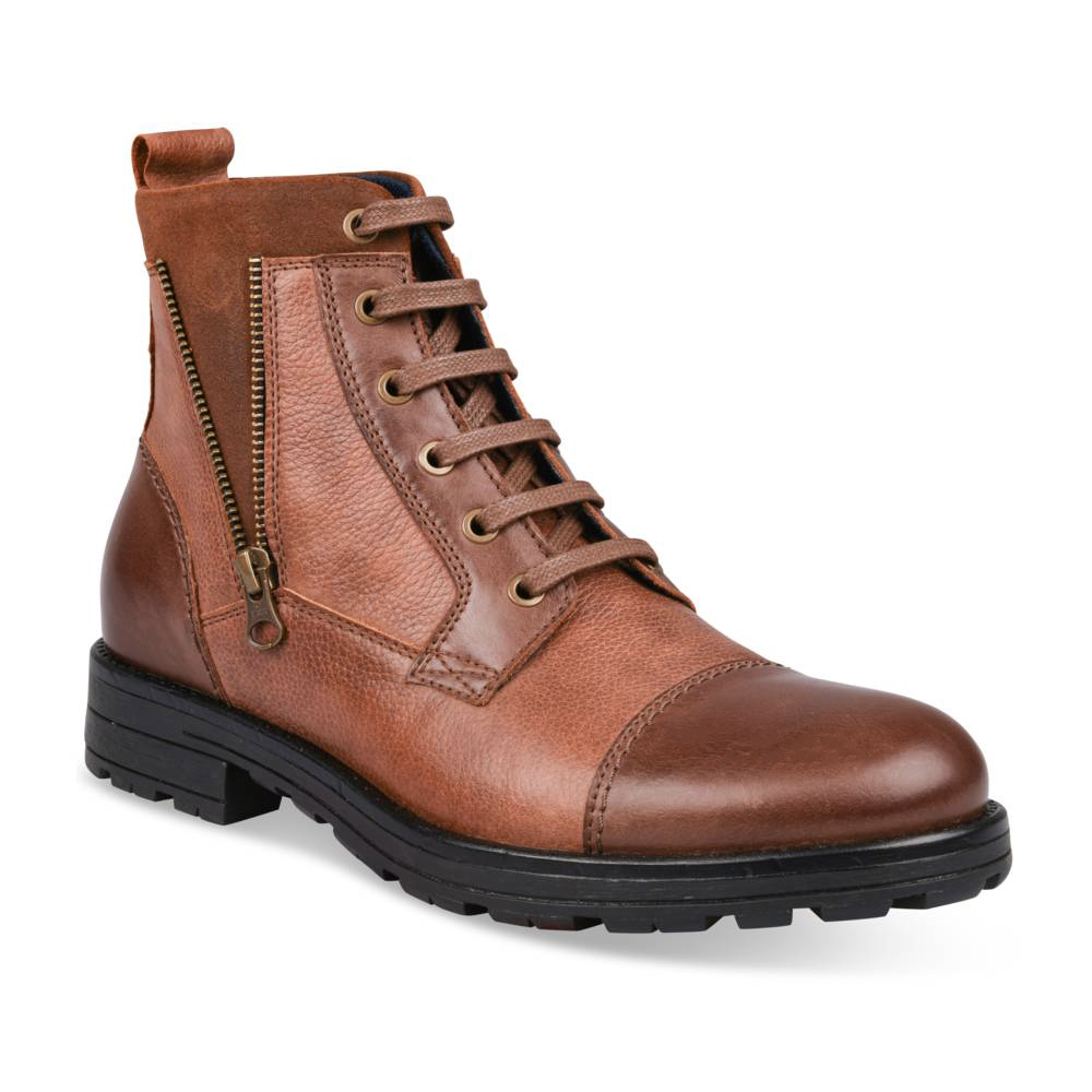 Bottines MARRON CAPE MOUNTAIN CUIR