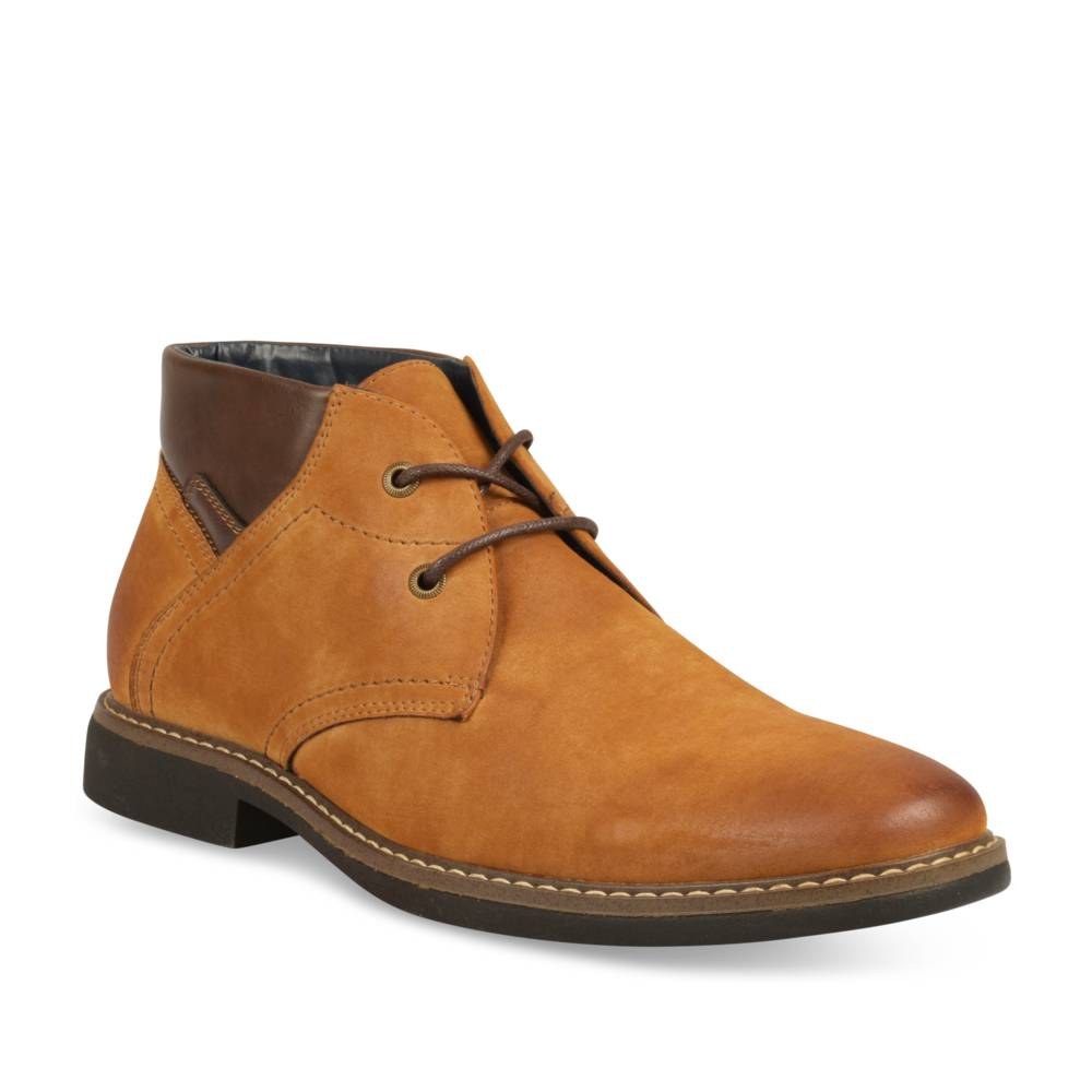 Bottines COGNAC DENIM SIDE