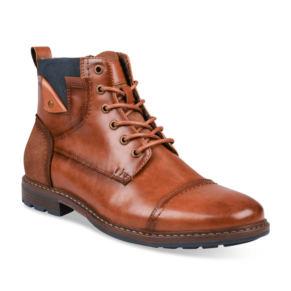 Bottines MARRON DENIM SIDE