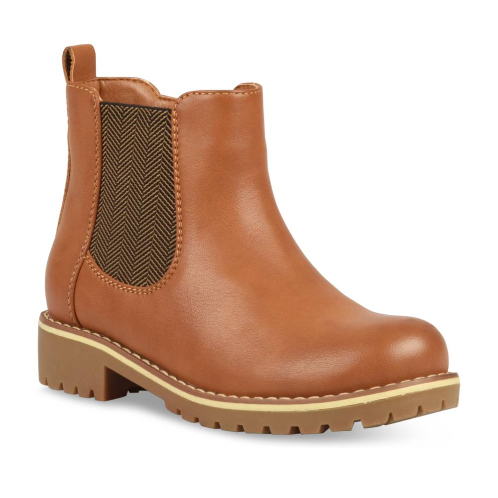 Bottines COGNAC TAMS