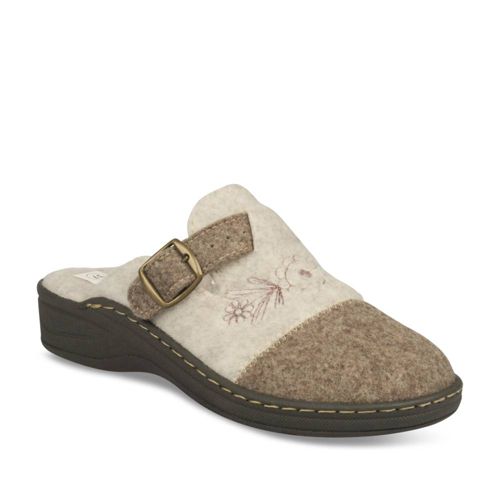 Chaussons BEIGE NEOSOFT RELAX