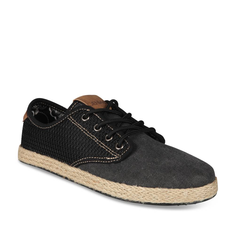 Espadrilles NOIR DENIM SIDE JUNIOR