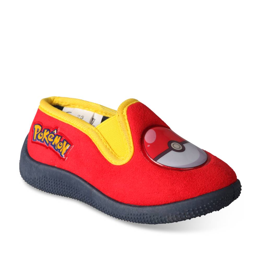 Chaussons ROUGE POKEMON