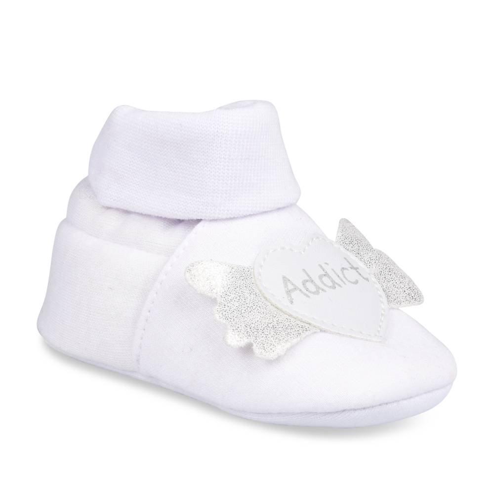 Chaussons BLANC FREEMOUSS GIRL LAYETTE