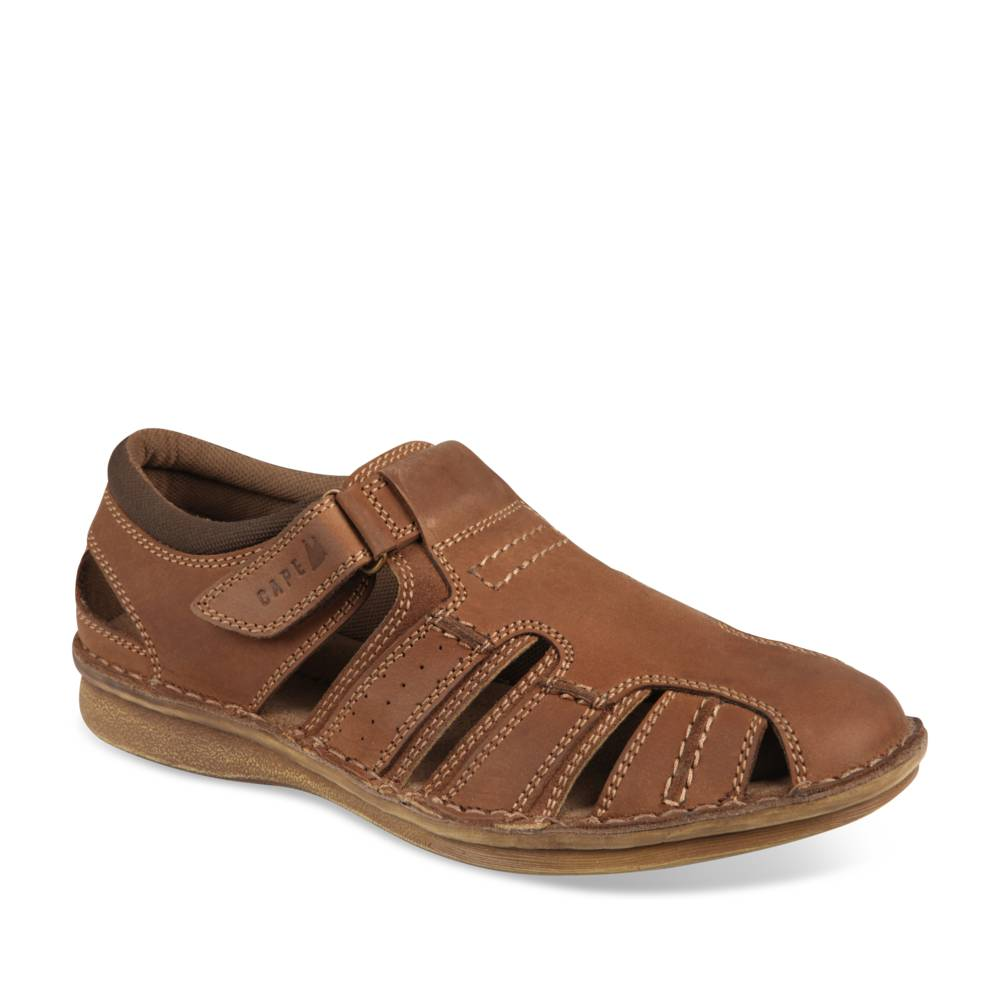 Sandales MARRON CAPE MOUNTAIN CUIR