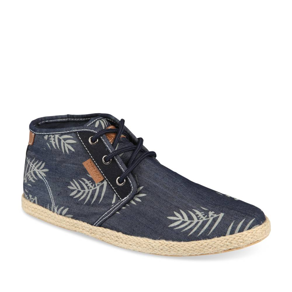 Espadrilles BLAUW DENIM SIDE