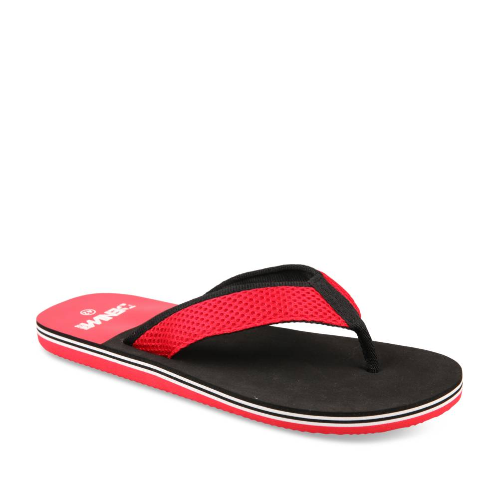 Teenslippers ROOD DENIM SIDE