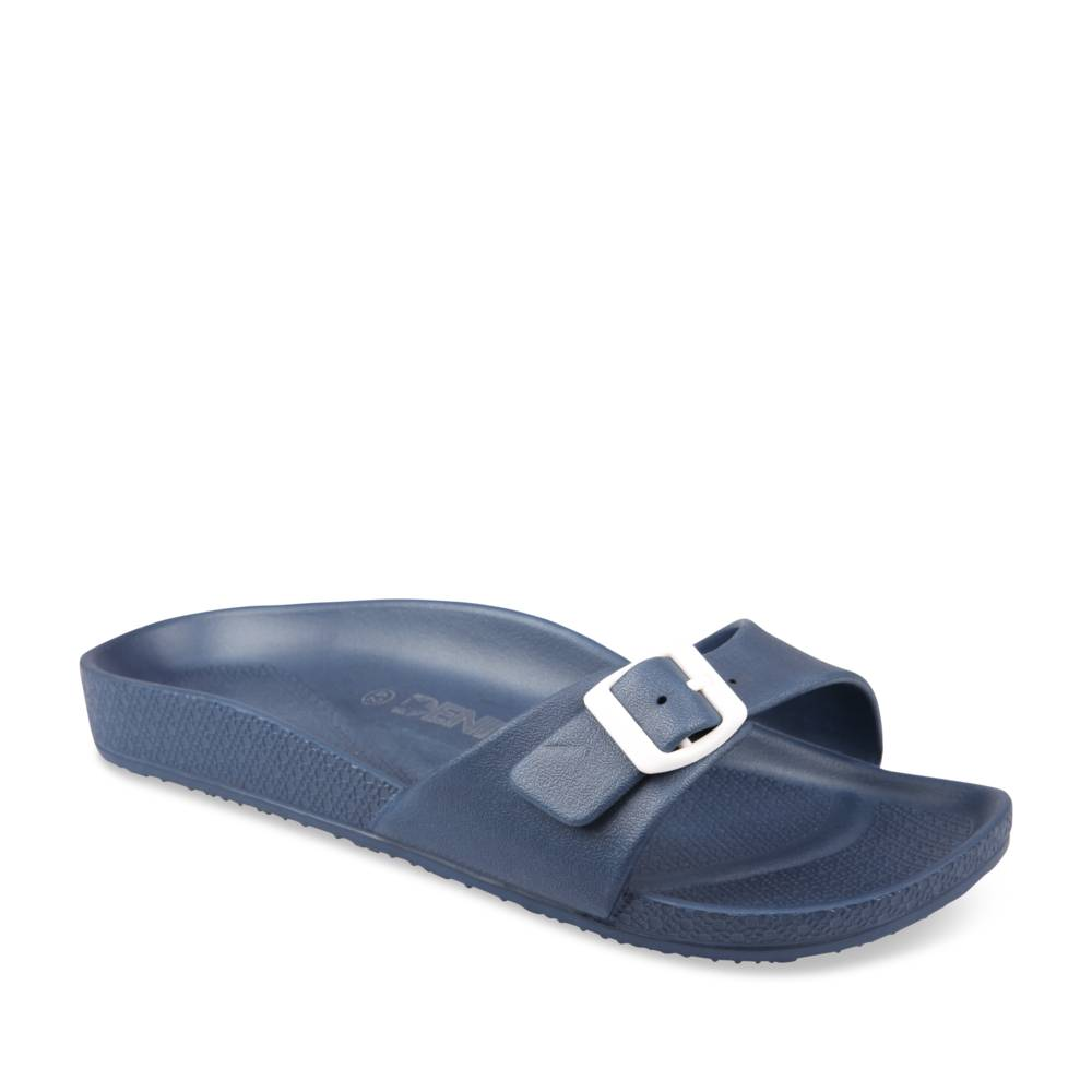 Teenslippers NAVY DENIM SIDE