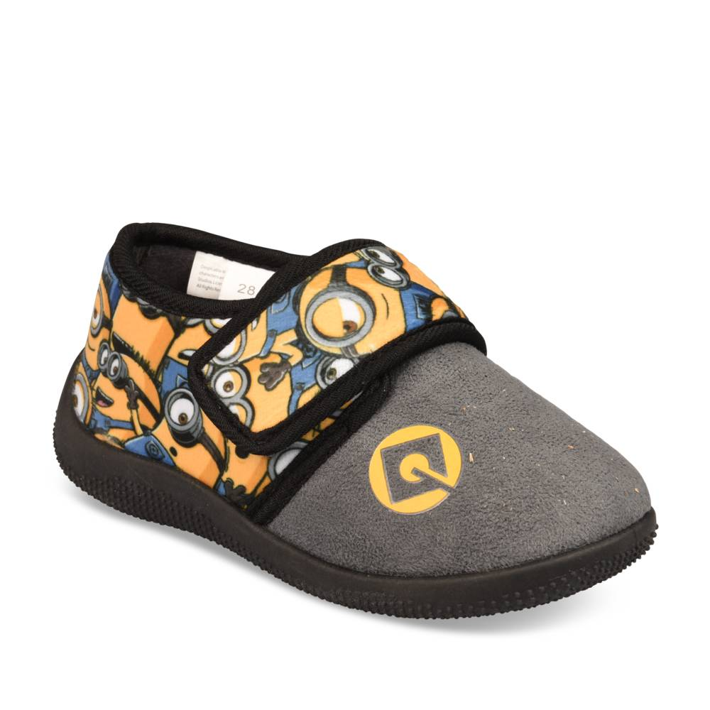 Chaussons GRIS MINIONS