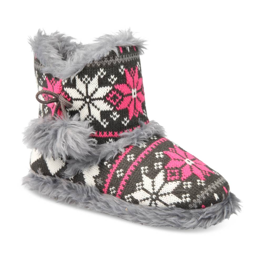 Chaussons GRIS MERRY SCOTT