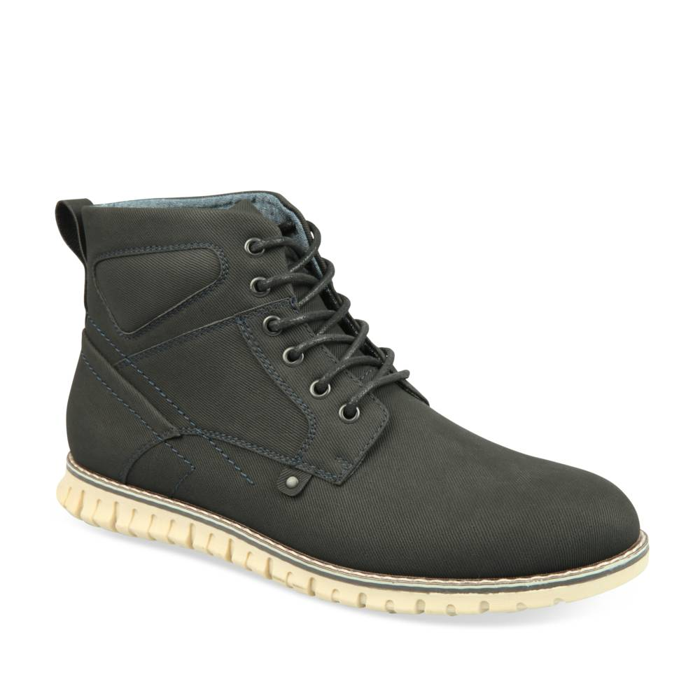 Bottines NOIR DENIM SIDE