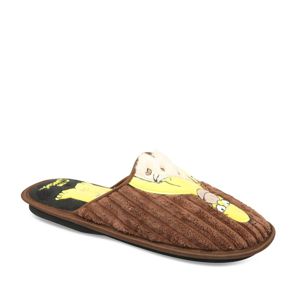 Chaussons MARRON SIMPSONS