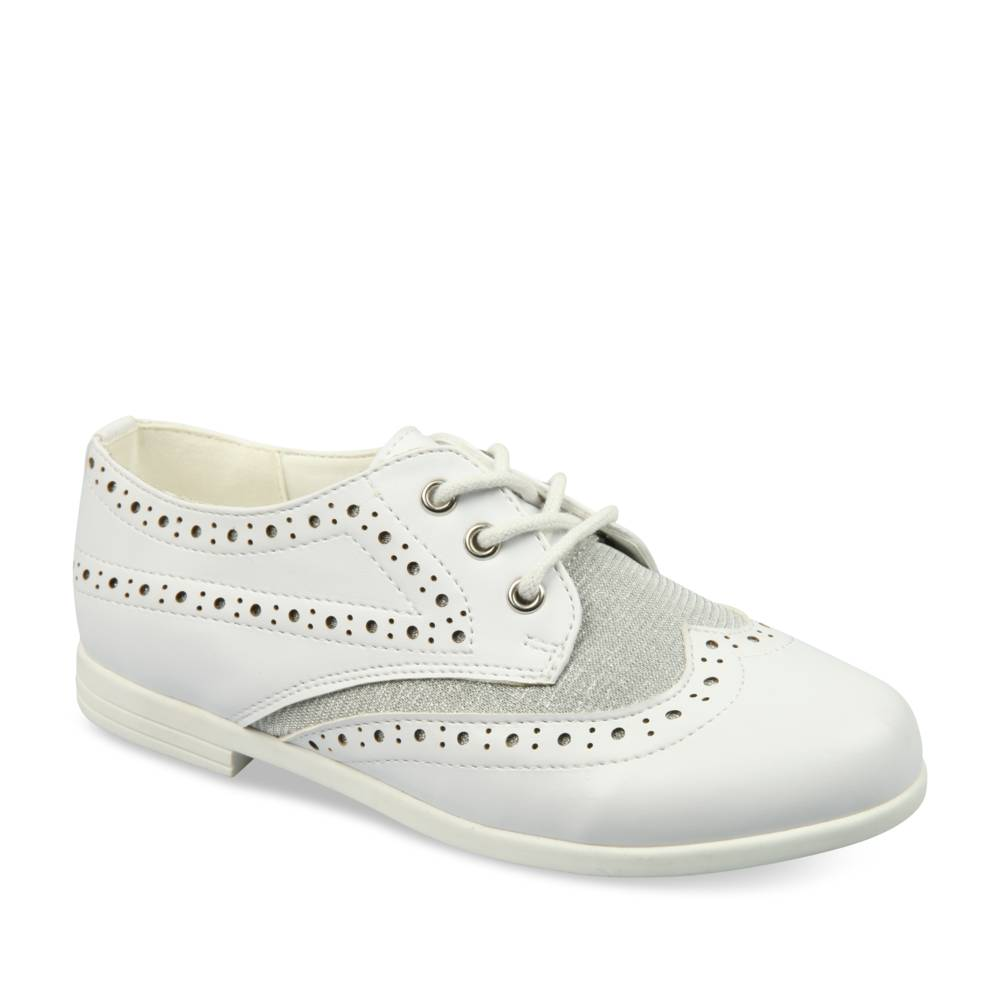 Derbies BLANC LOVELY SKULL