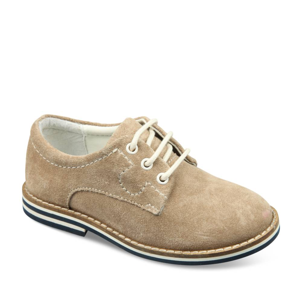 Derbies BEIGE CHARLIE & FRIENDS CUIR