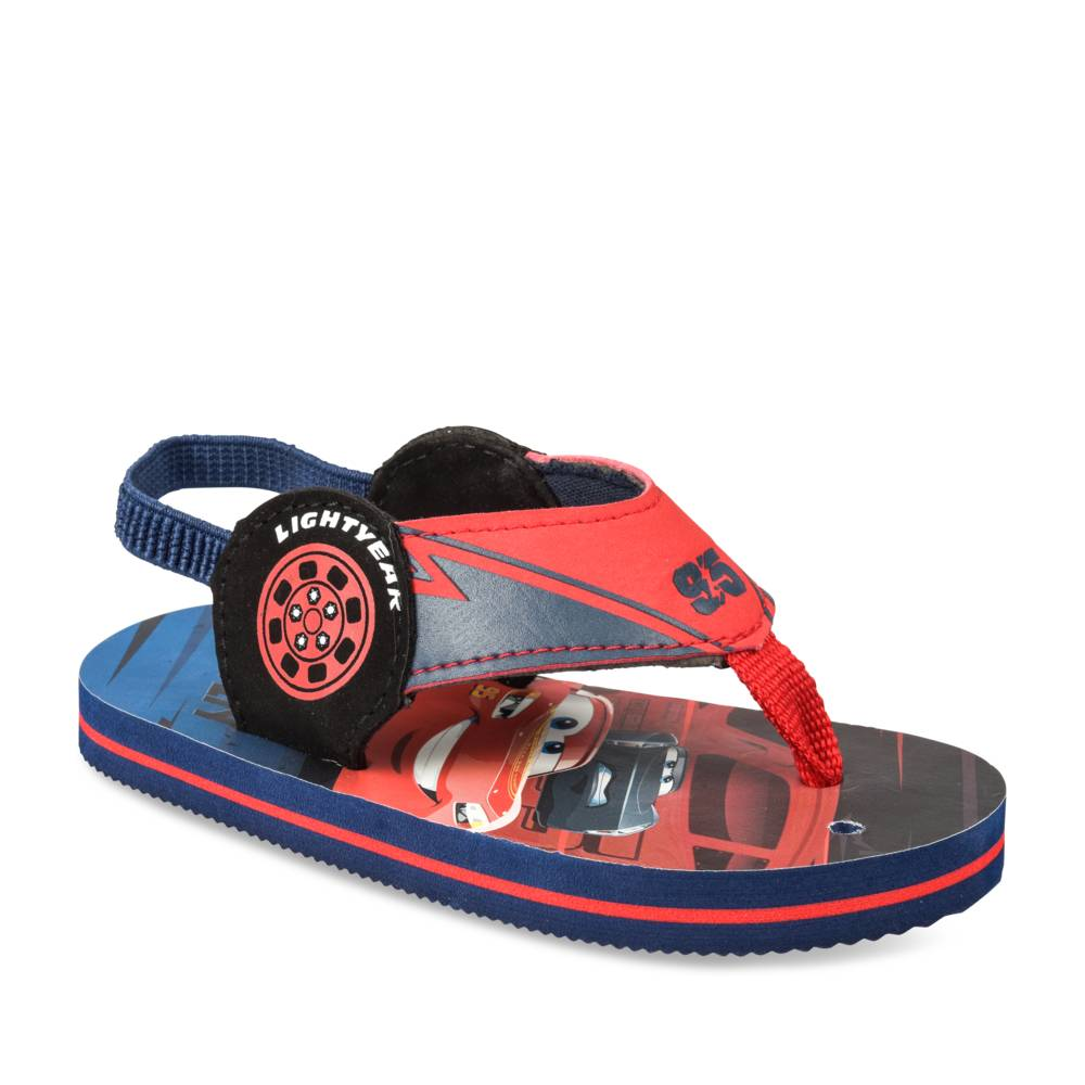 Teenslippers NAVY CARS