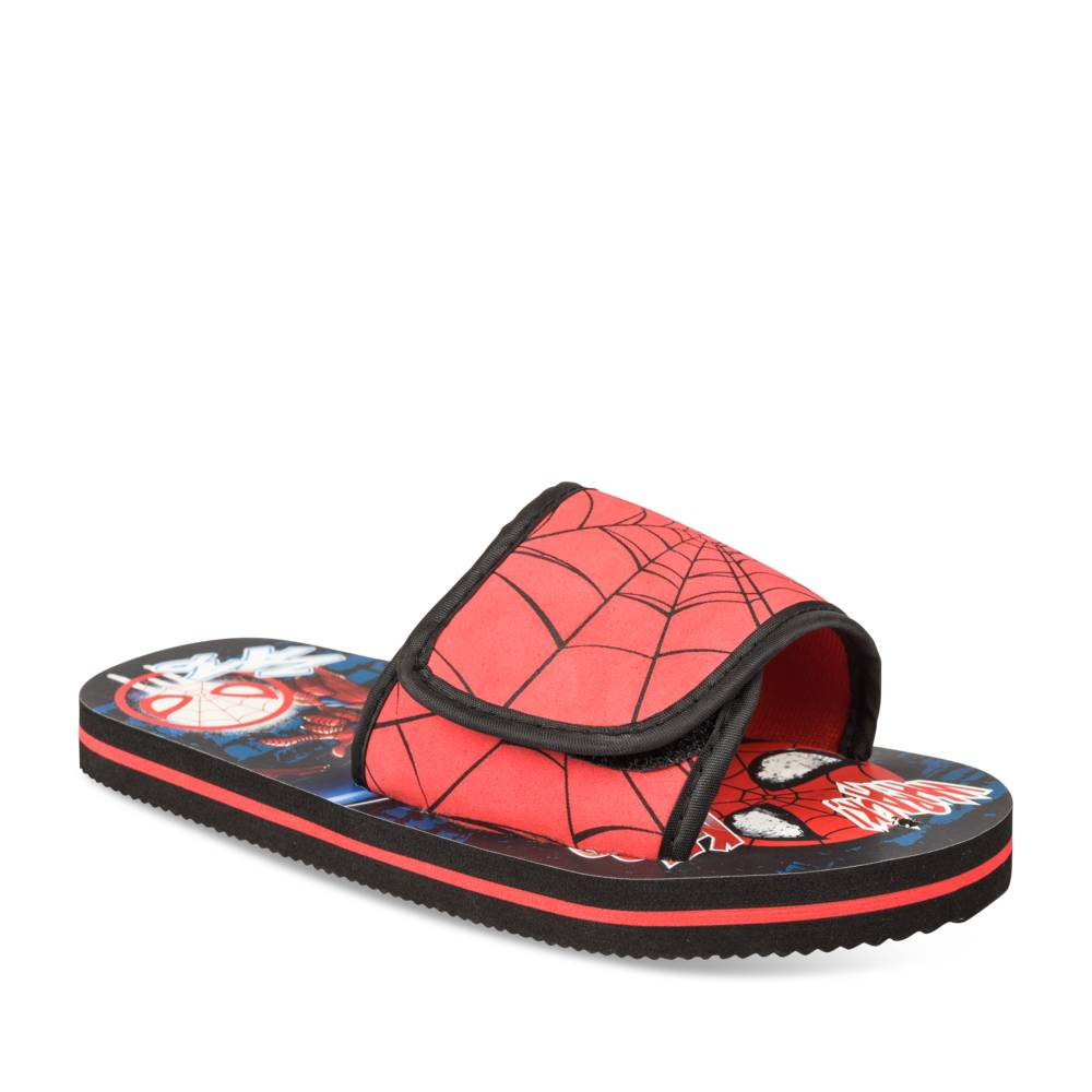Tongs ROUGE SPIDERMAN