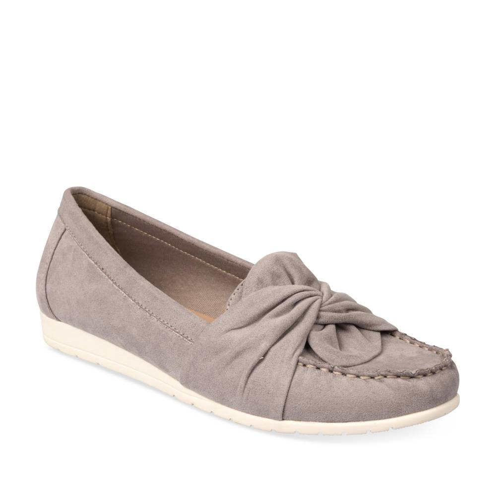 Mocassins GRIS MERRY SCOTT