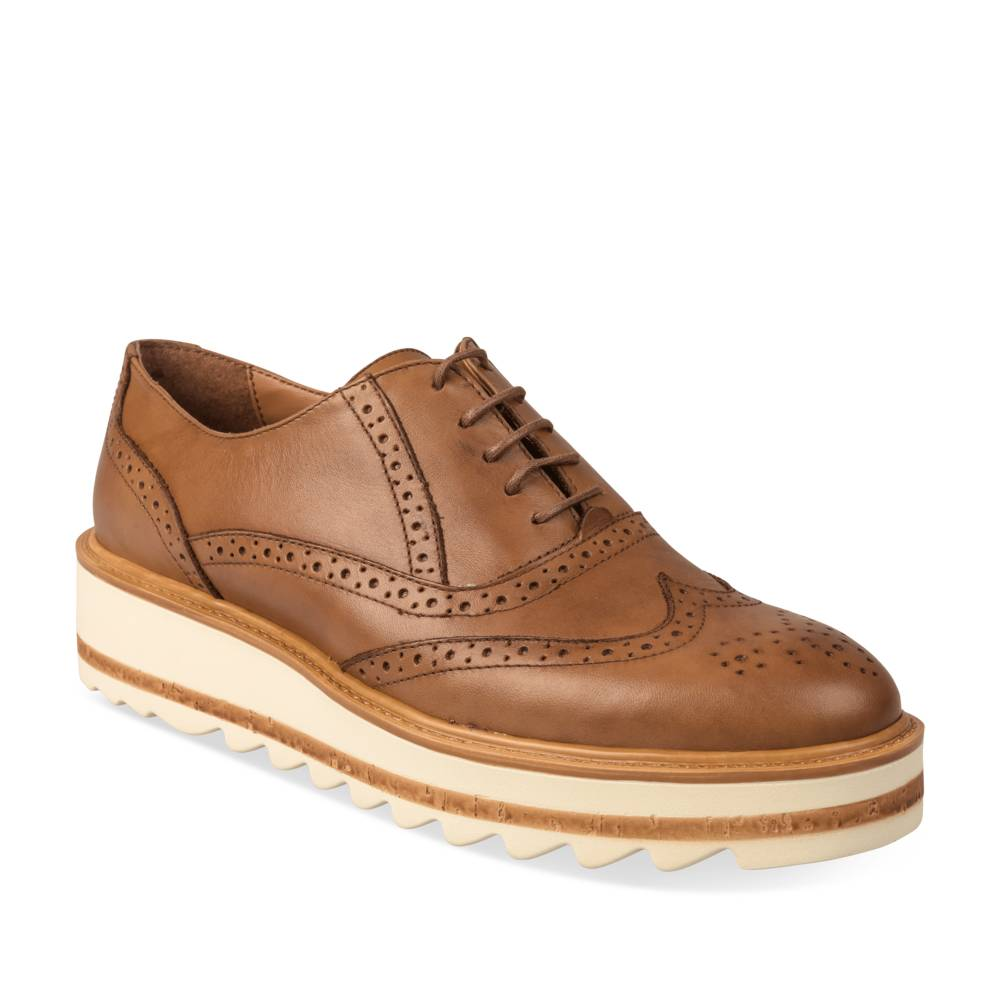 Derbies MARRON MEGIS ELEGANT