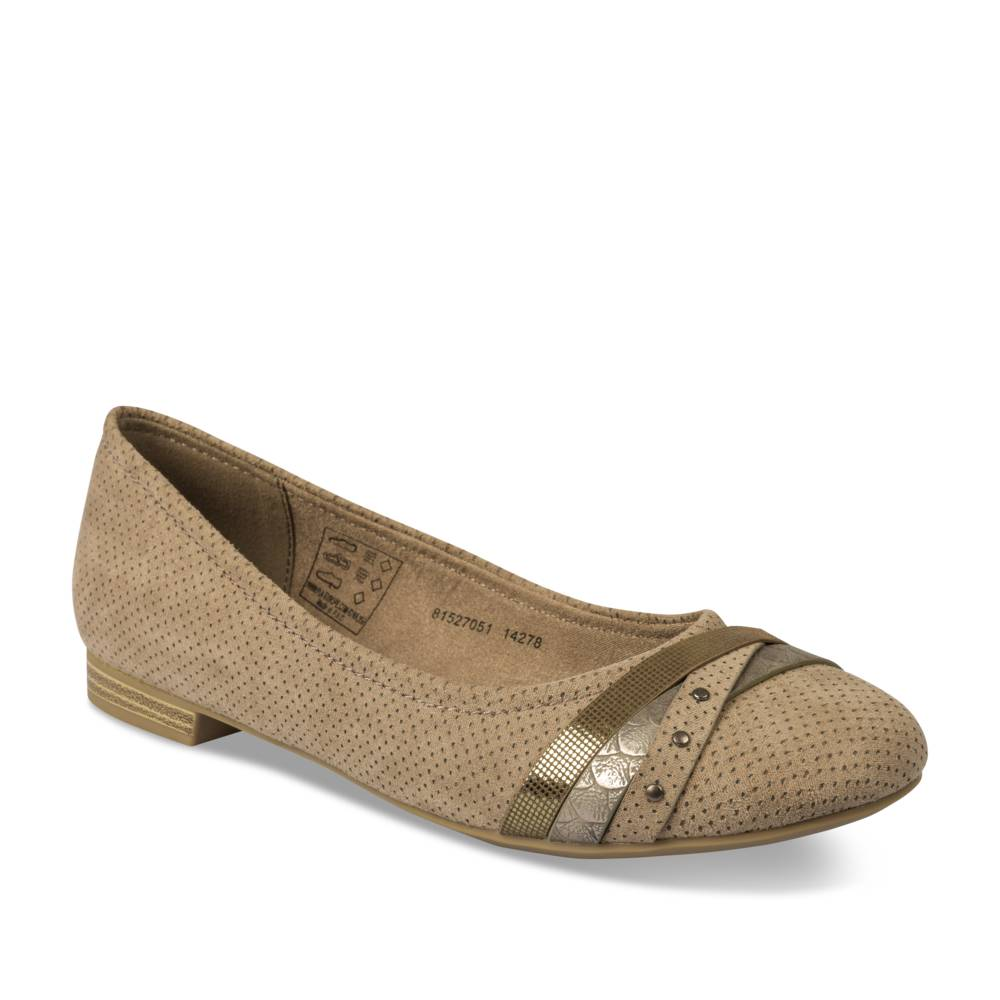 Ballerines BEIGE MERRY SCOTT