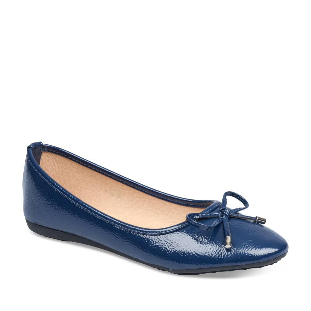 Ballerines BLEU MERRY SCOTT