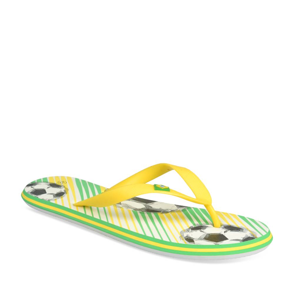 Tongs JAUNE COUPE DU MONDE