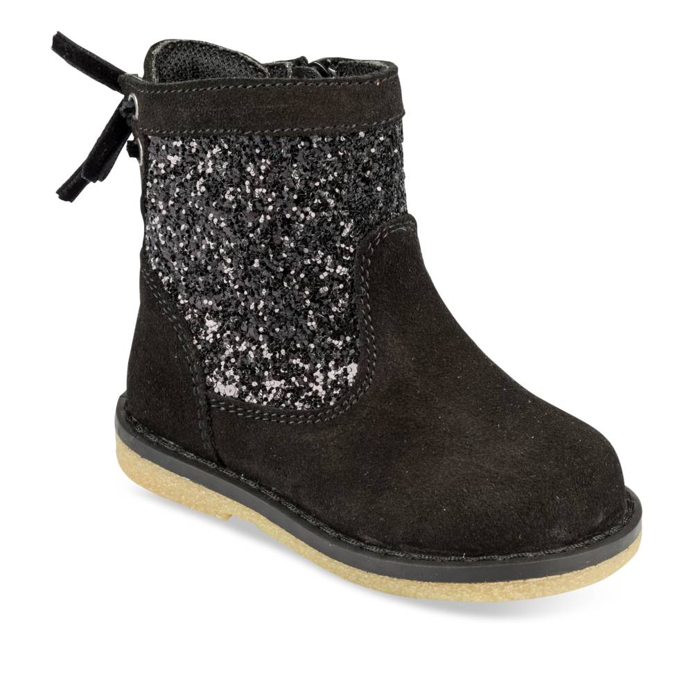 Bottines NOIR FREEMOUSS GIRL CUIR