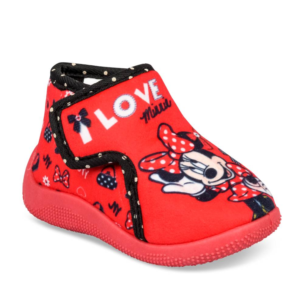 Chaussons ROUGE MINNIE