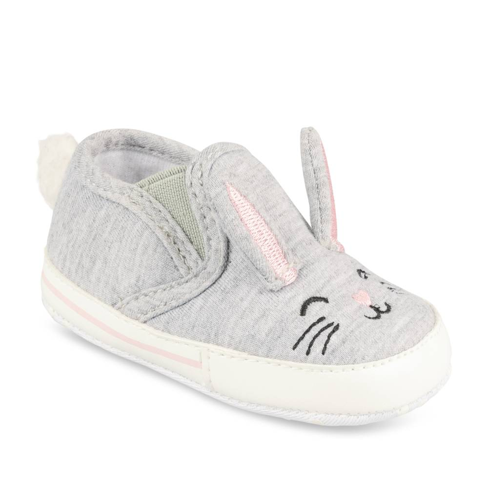 Baskets GRIS FREEMOUSS GIRL LAYETTE