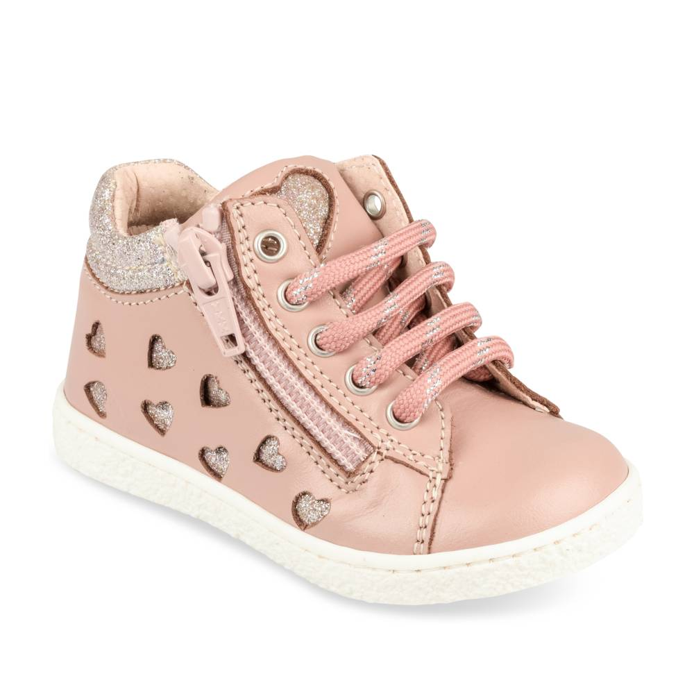 Baskets ROSE FREEMOUSS GIRL CUIR