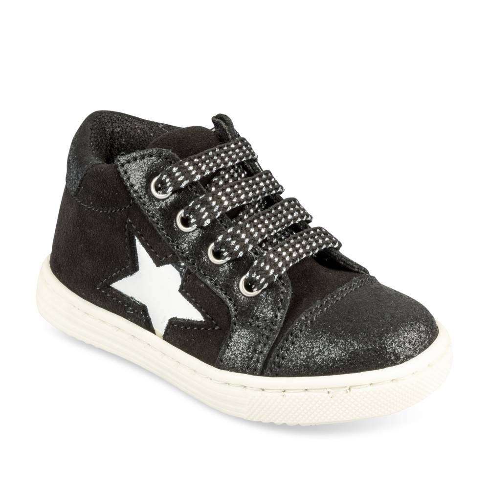Baskets NOIR FREEMOUSS GIRL CUIR