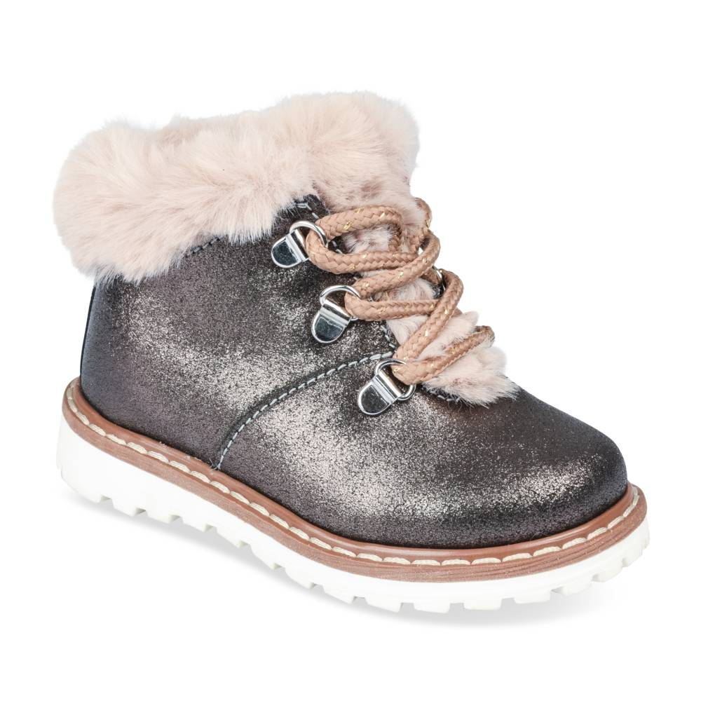 Bottines PEWTER FREEMOUSS GIRL CUIR