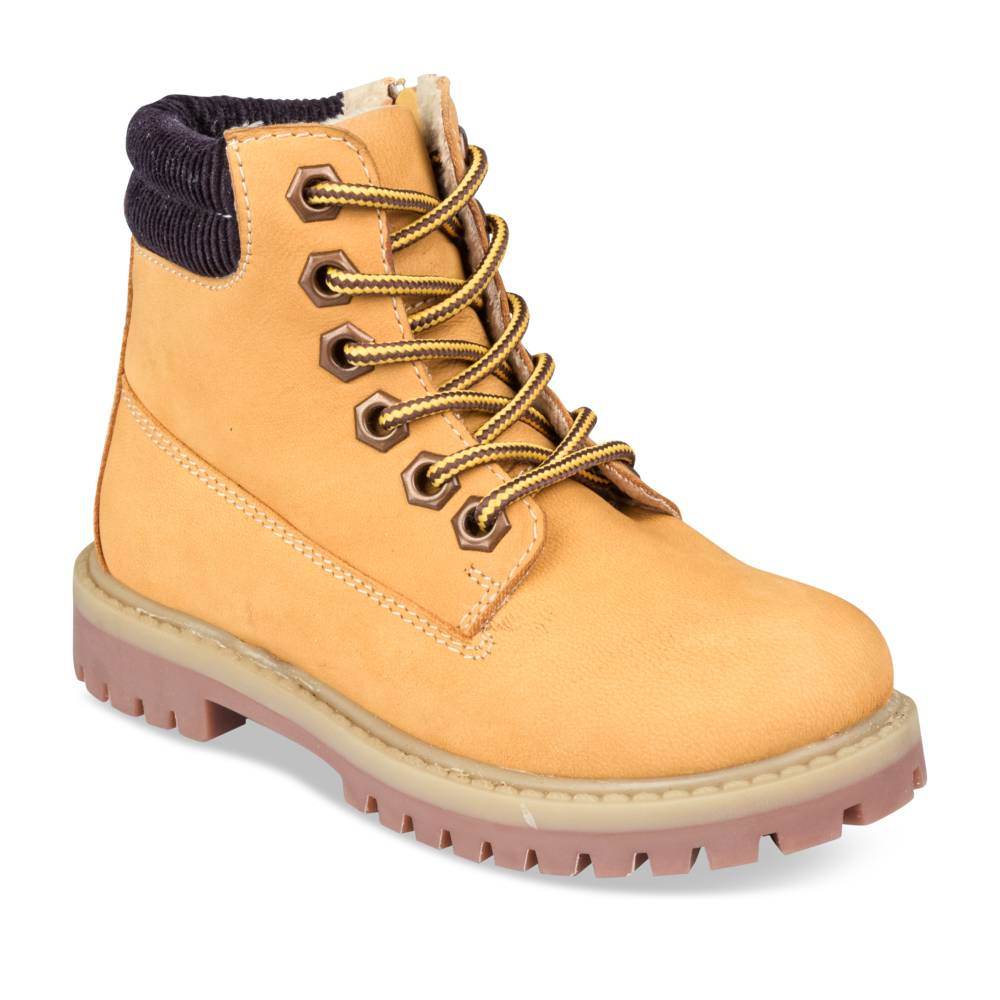 Bottines JAUNE CHARLIE & FRIENDS CUIR