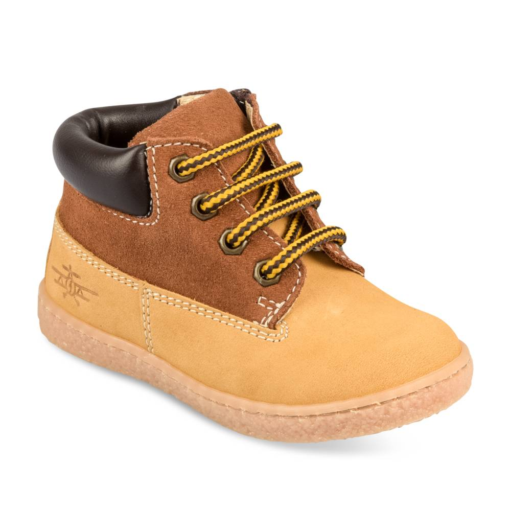 Bottines JAUNE FREEMOUSS BOY CUIR