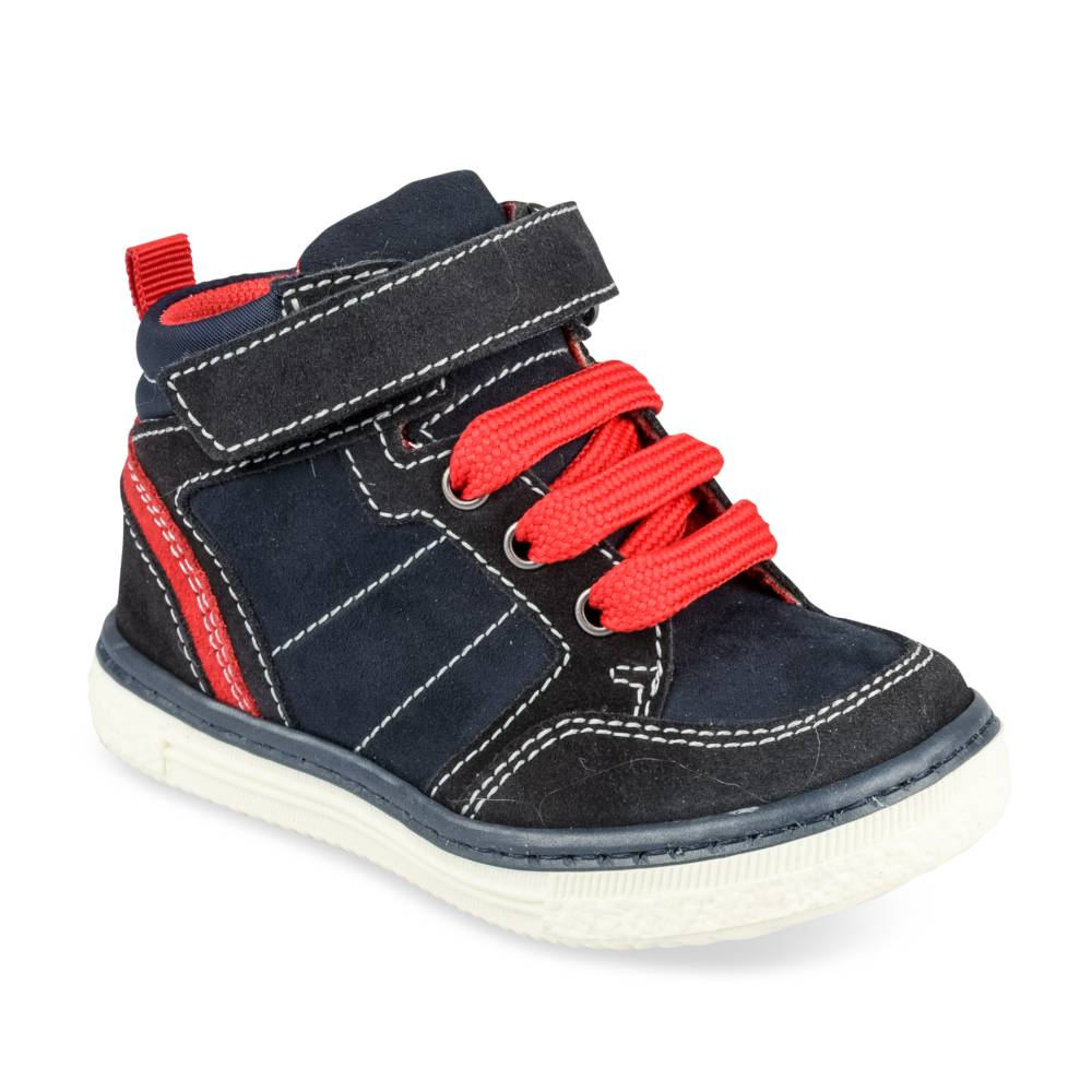 Baskets MARINE FREEMOUSS BOY CUIR