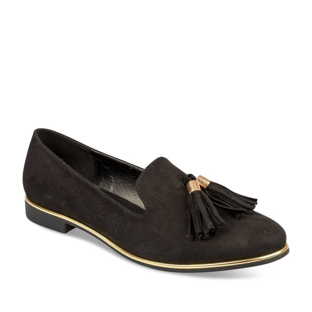 regarder 6fd86 992f9 Mocassins NOIR MERRY SCOTT