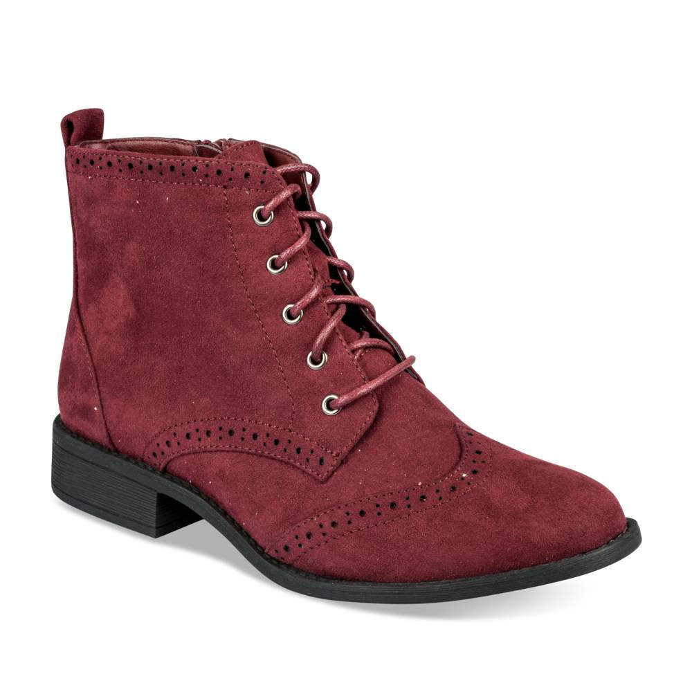 Bottines plates BORDEAUX MERRY SCOTT
