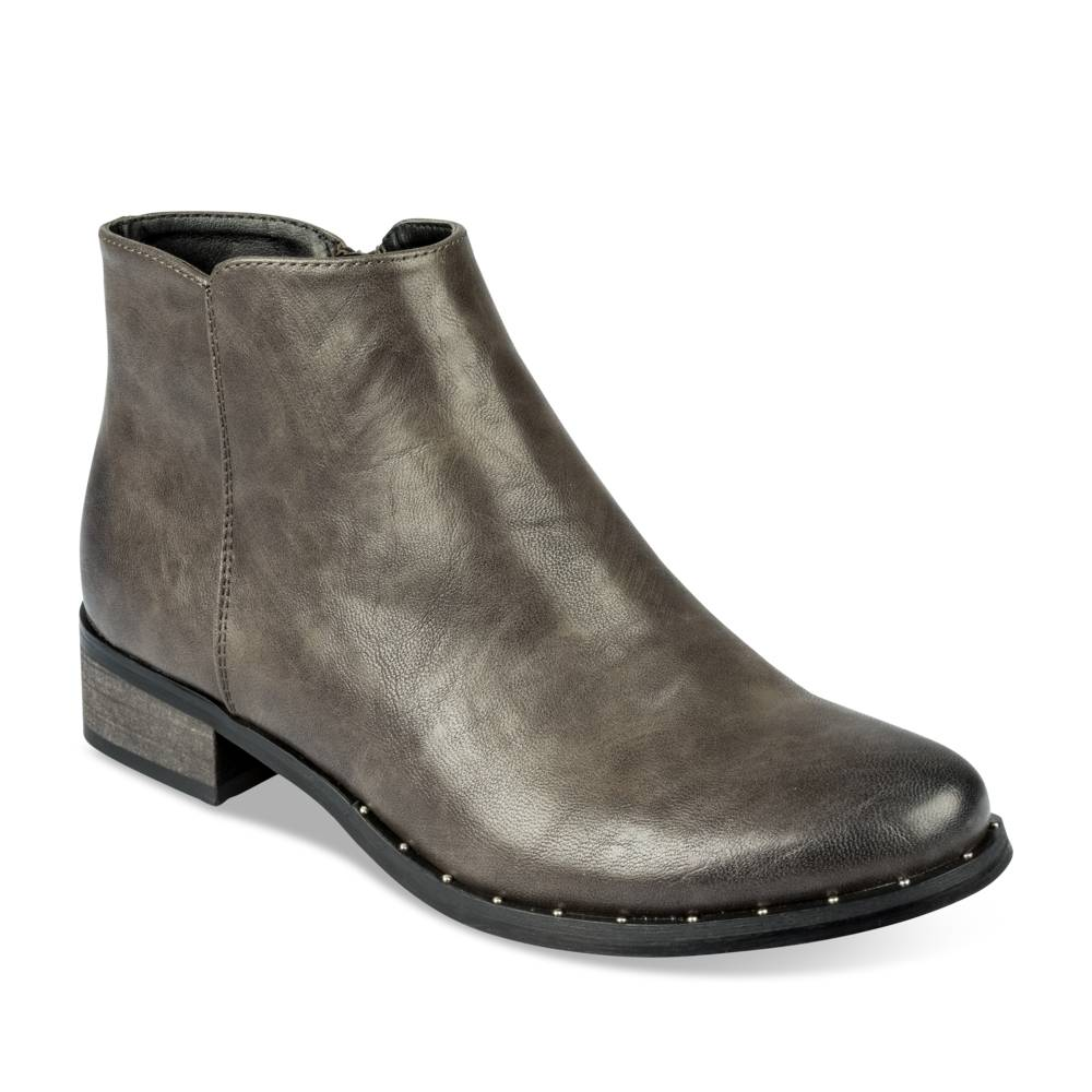 Bottines plates GRIS MERRY SCOTT