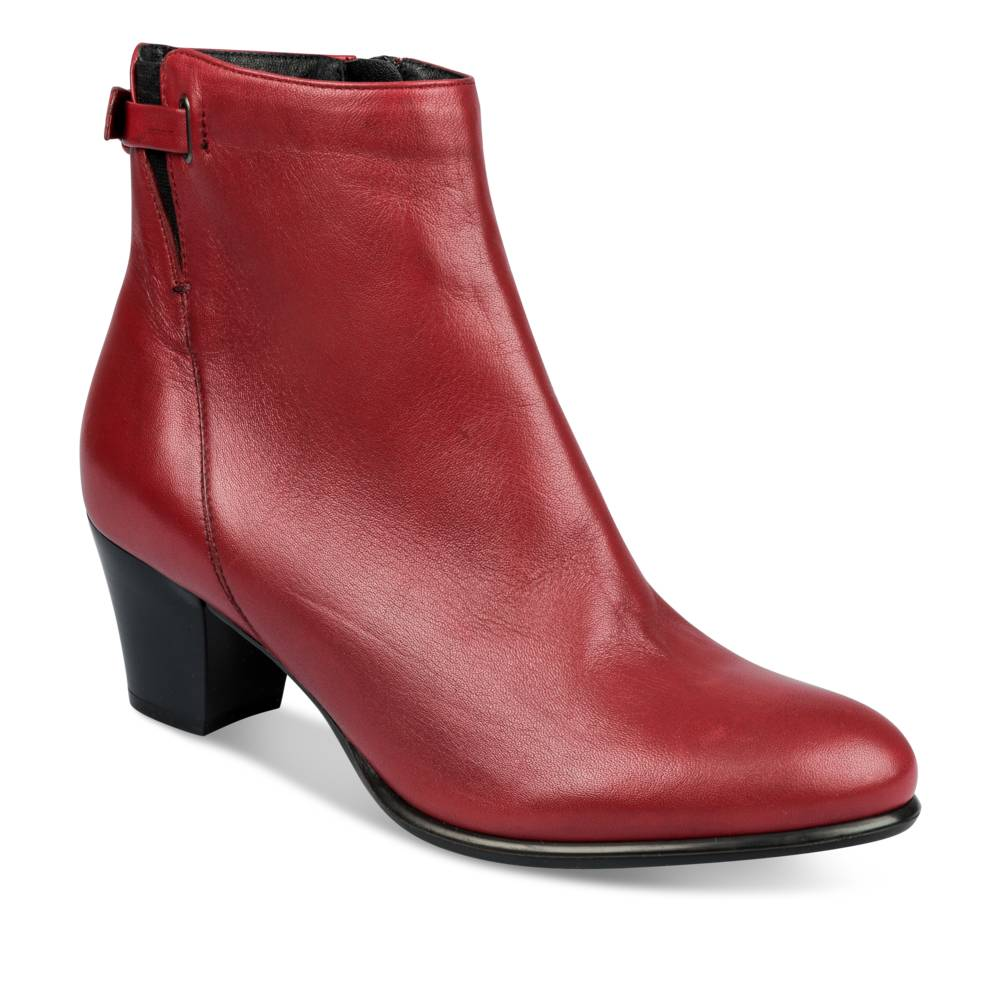 Bottines à talon ROUGE MEGIS ELEGANT