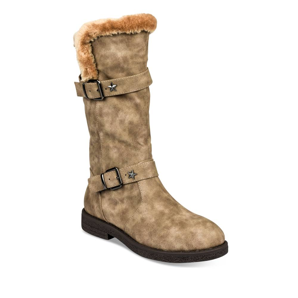 Bottes plates TAUPE MERRY SCOTT
