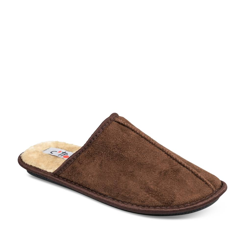 Chaussons MARRON CTRO