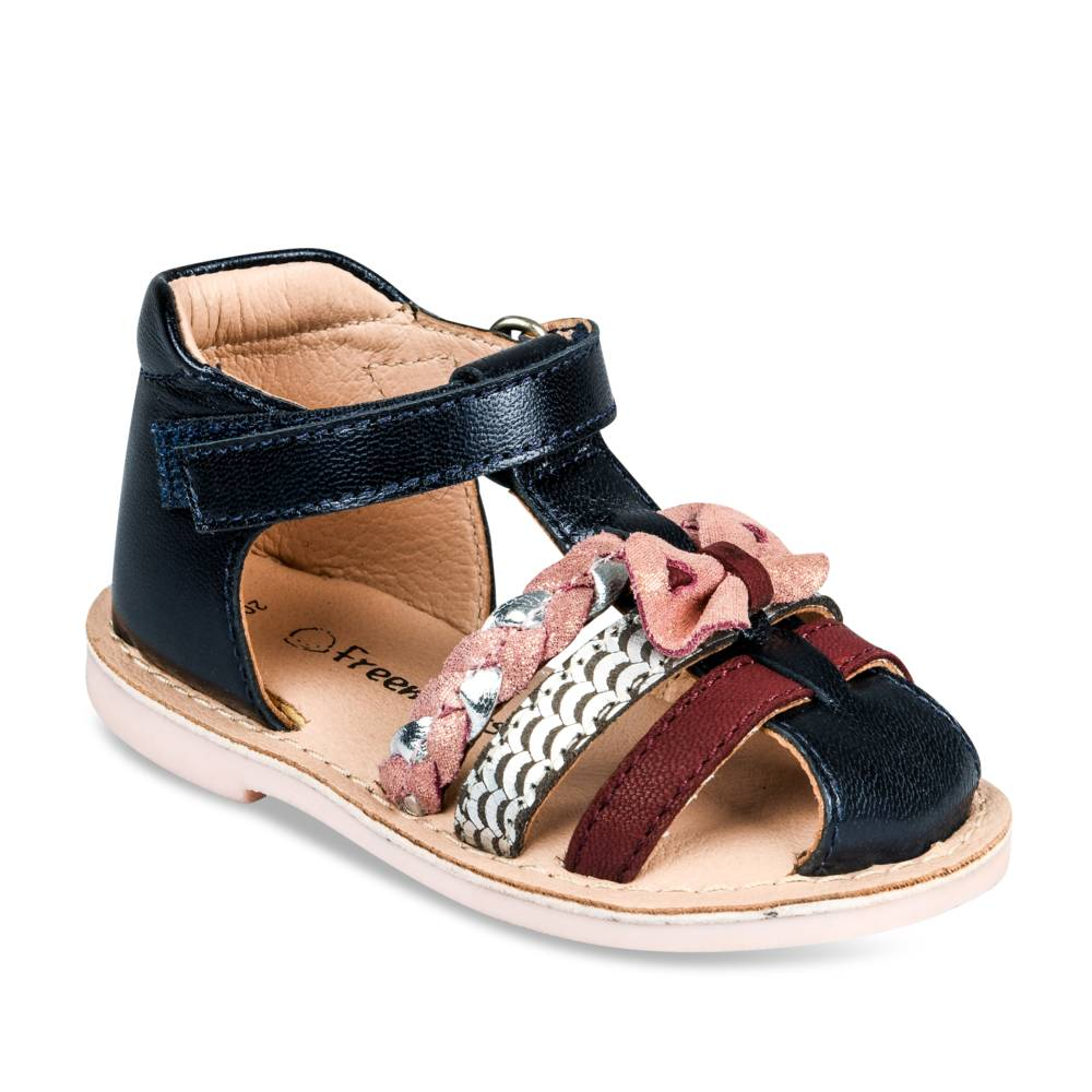 Sandalen NAVY FREEMOUSS GIRL CUIR