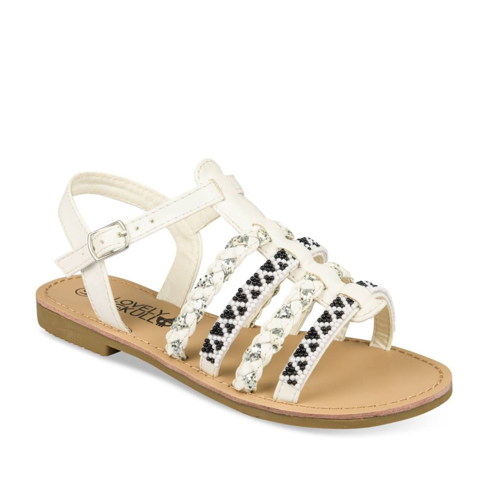 Sandalen WIT LOVELY SKULL