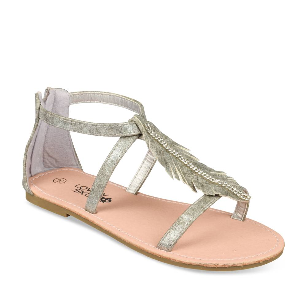 Sandalen METALLIC LOVELY SKULL