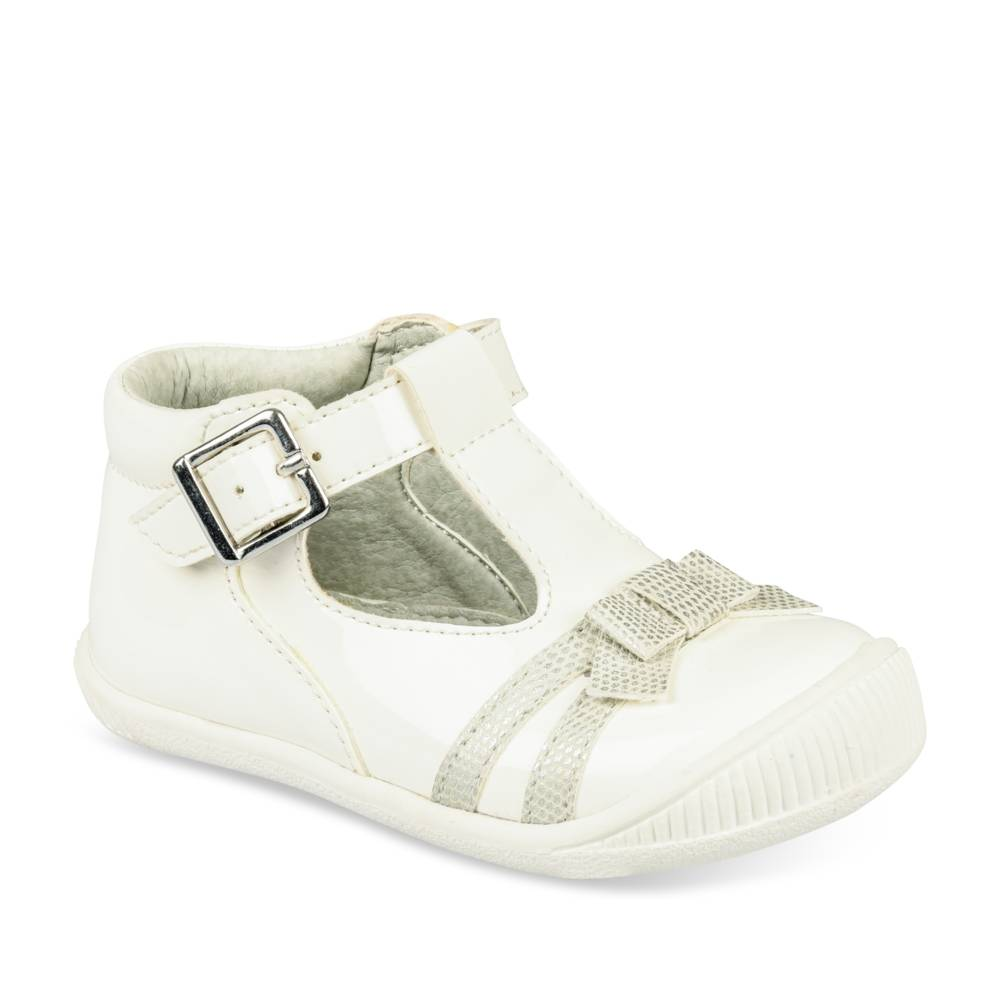 Ballerines BLANC FREEMOUSS GIRL