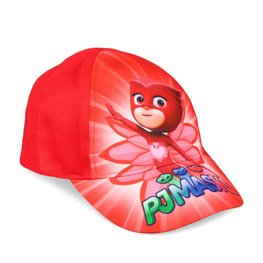 Casquette ROUGE PYJAMASK FILLE