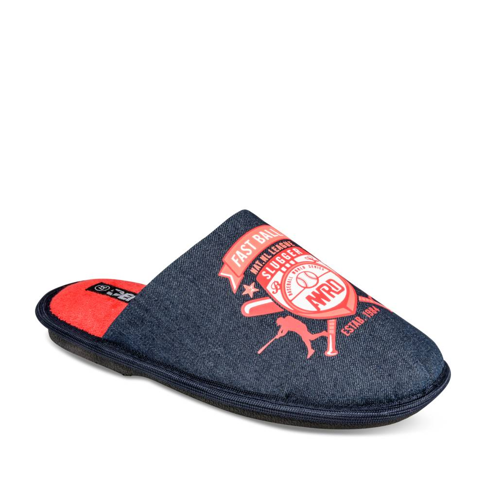 Chaussons MARINE DENIM SIDE JUNIOR