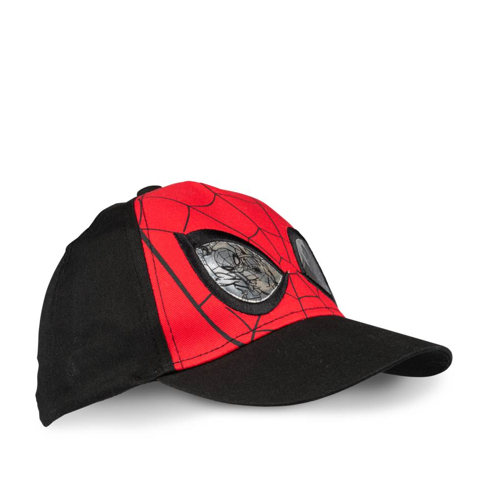 Cap ZWART SPIDERMAN