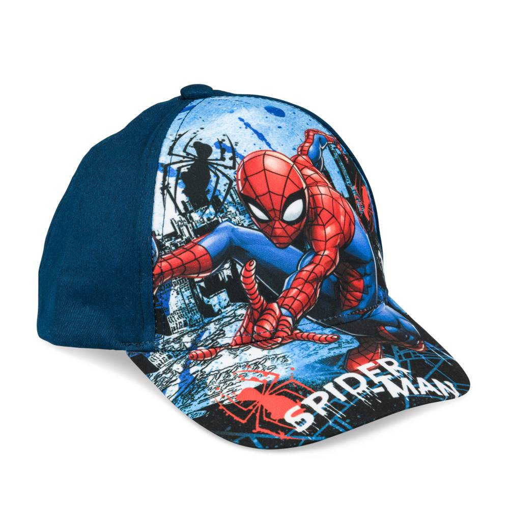Cap BLAUW SPIDERMAN