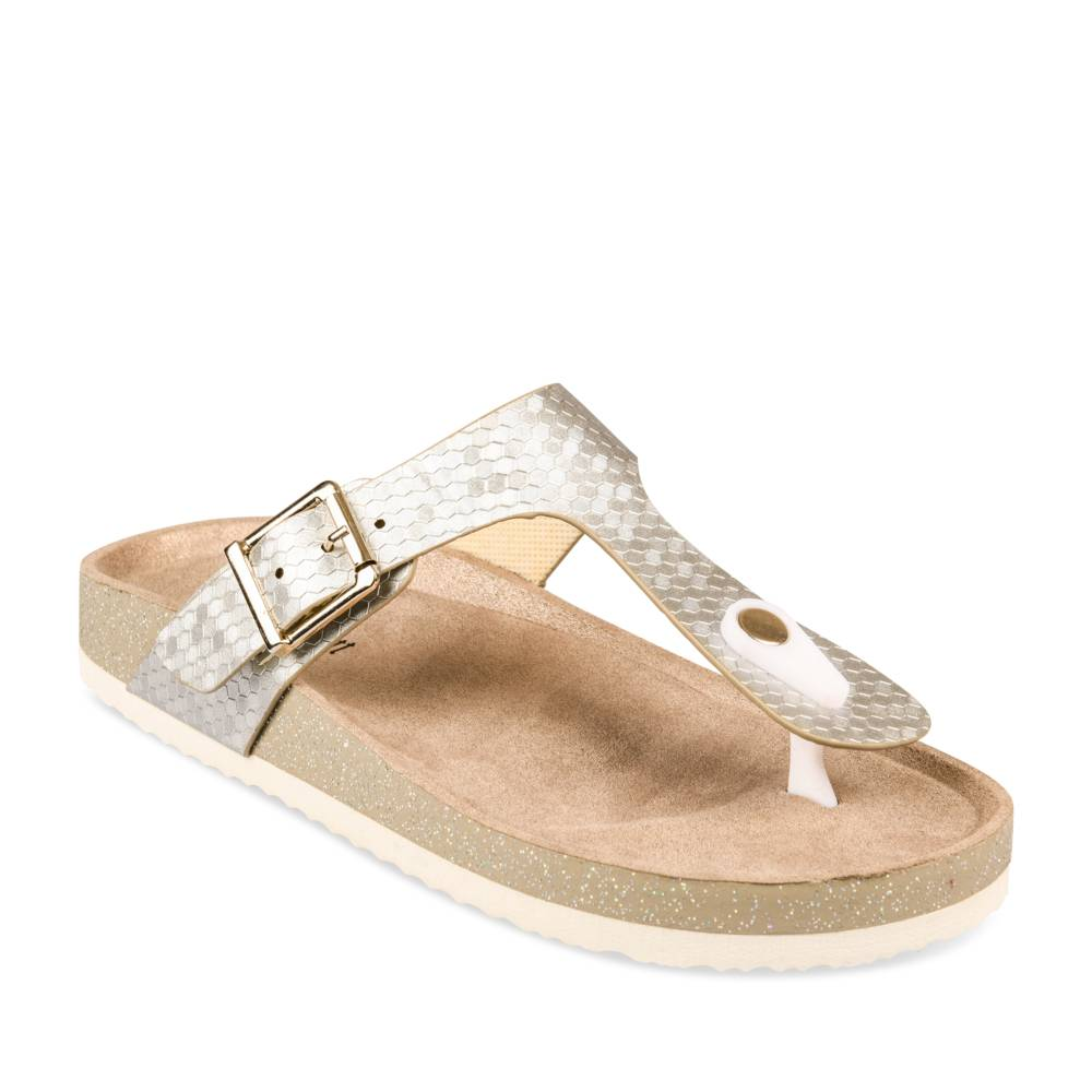 Teenslippers METALLIC MERRY SCOTT